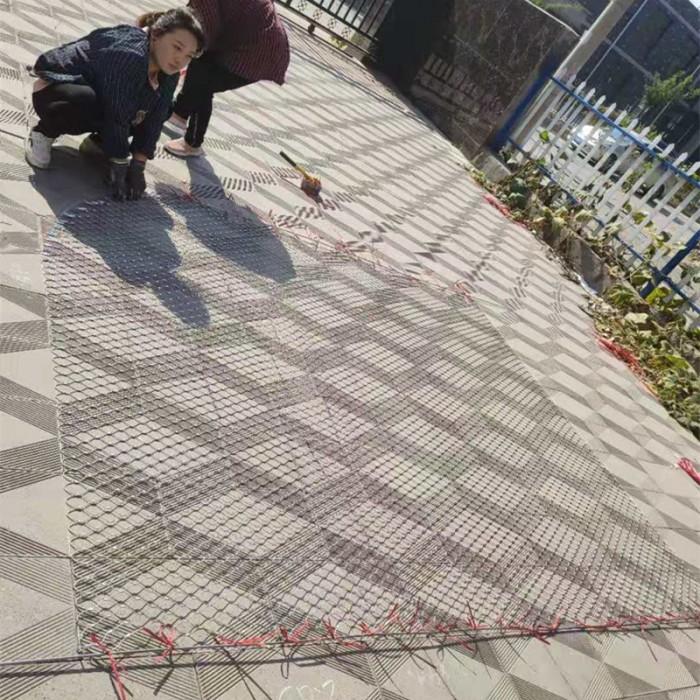 x-tend stainless steel ferrule rope mesh