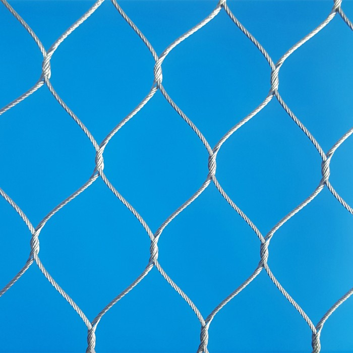 Stainless steel knotted mesh/hand woven mesh