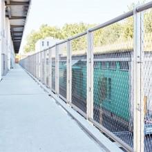 Balustrade net mesh system