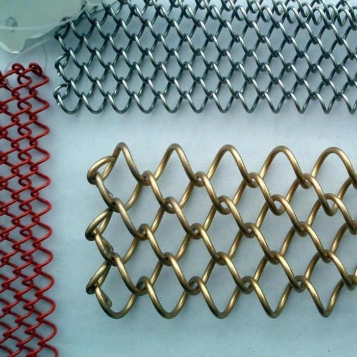 Decorative Metal Chain Mesh Curtain