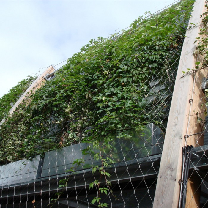 stainless steel green wall system
