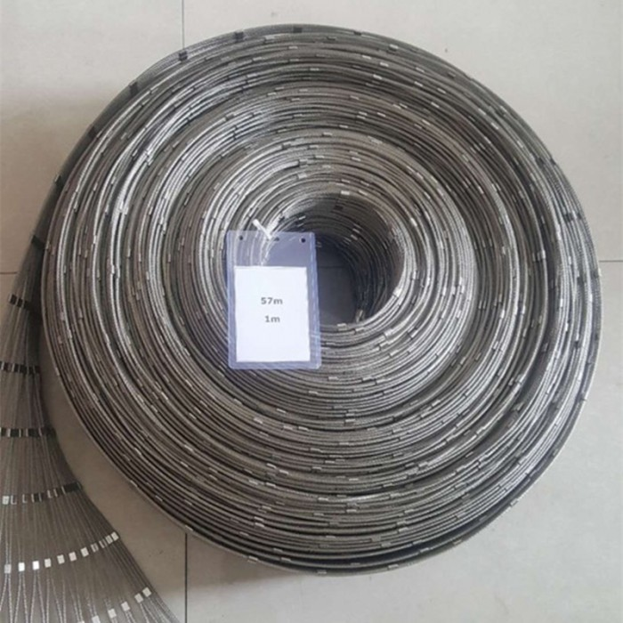 Stainless steel ferrule cable balustrade mesh