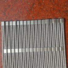 Stainless steel ferrule rope mesh