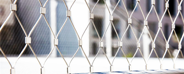 stainless steel cable nets,stair railing mesh fence,Inox cable net,zoo mesh