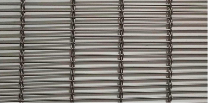 Decorative Stainless Steel Architectural Facade Mesh